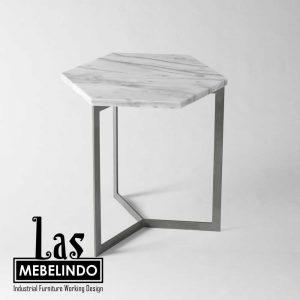side-table-hexagonal-besi-marble-las-mebel